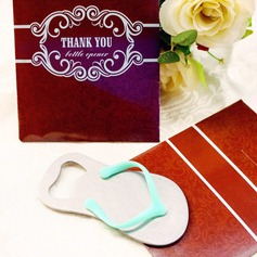 """Pop the Top"" Flip-Flop Bottle Opener in Thank You GiftBag"