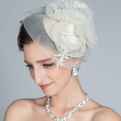 Special Imitation Pearls/Rhinestone Fascinators