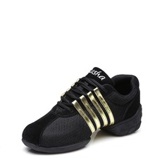 Unisex Fabric Sneakers Sneakers With Lace-up Dance Shoes