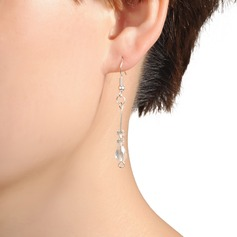 Elegant Plastic Ladies' Earrings
