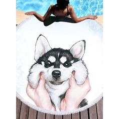 dog Oversized/attractive Beach towel