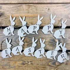 Creative Gifts Creative Easter Rabbit Wooden (set of 11) Non-personalized Gifts