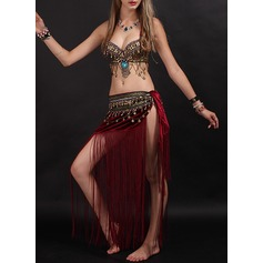 Women's Dancewear Velvet Belly Dance Outfits (115175833)