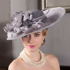 Damen Elegant Net Garn Bowler/Kapotthut/Kentucky Derby Hüte/Tea Party Hüte