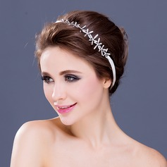 "Elegant Rhinestone/""A"" Level Rhinestone Headbands"