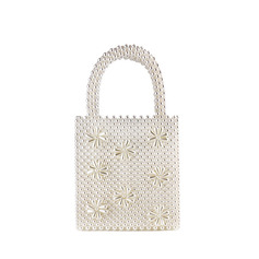 Delicate Imitation Pearl Bridal Purse