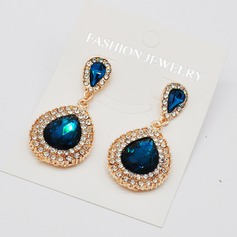 Fashional Alloy Rhinestones Ladies' Fashion Earrings