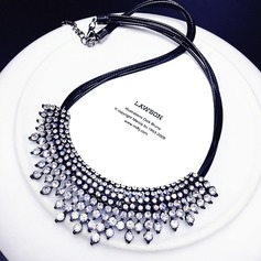 Beautiful Alloy Rhinestones Ladies' Fashion Necklace (137116964)