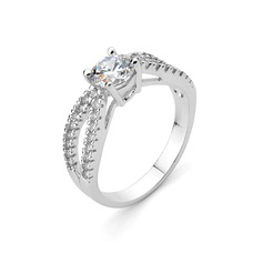 Beautiful Alloy/Cubic Zirconia Rings