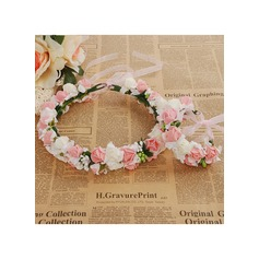 Foam With Ribbon Flower Headband ( Including Wrist Corsage) (198117019)