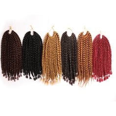 Afro Kinky Braids Synthetic Hair Braids 12strands per pack 90g