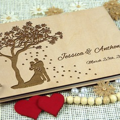 Personalized Wood Guestbook (101212891)