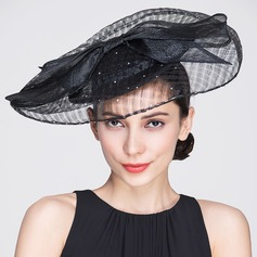 Ladies' Gorgeous Summer/Autumn Cambric With Bowler/Cloche Hat