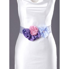 Lovely Satin Sash With Beading/Flower