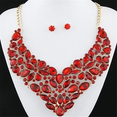 Gorgeous Alloy Resin Ladies' Jewelry Sets