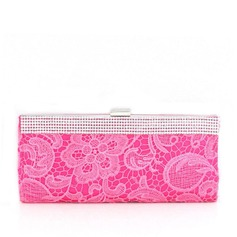 Refined Silk/Crystal/ Rhinestone Clutches