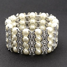 Exquisite Alloy/Rhinestones/Imitation Pearls Bracelets