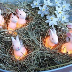 Rabbit shape  Decoration light for Easter mid autumn festival(set of 10)