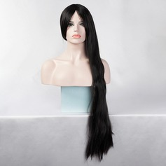 Straight Long Synthetic Wigs (Sold in a single piece)
