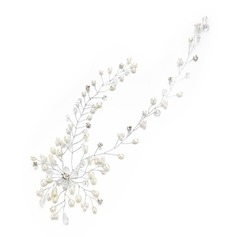 Ladies Nice Crystal/Rhinestone/Imitation Pearls Hairpins With Rhinestone/Venetian Pearl/Crystal (Sold in single piece)