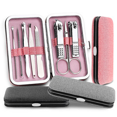 Casual Stainless steel Nail Clipper Set (Set of 8)