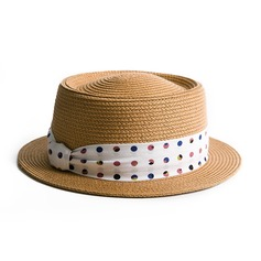 Ladies' Classic/Elegant Raffia Straw Straw Hat/Beach/Sun Hats