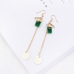 Beautiful Copper Silk Ladies' Fashion Earrings