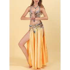 Women's Dancewear Polyester Belly Dance Outfits (115175841)