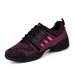 Women's Canvas Sneakers Sneakers With Lace-up Dance Shoes
