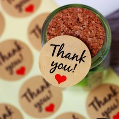 Thank You Stickers DIY Gift Wrapping Materials