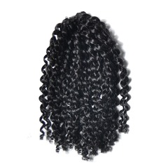 Afro Kinky Braids Synthetic Hair Braids (Set of 3) 60PCS 100g