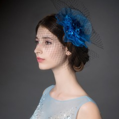 Exquisite Net Yarn/Rhinestone Fascinators