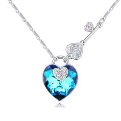 Classic Alloy/Crystal With Crystal Necklaces