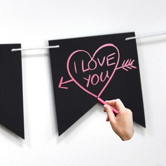 """I Love You"" Lovely/Attractive Wooden Wedding Sign"