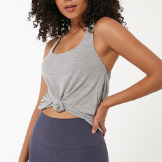 Modern/Contemporary Casual Simple Nylon Tank Top