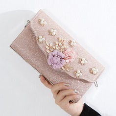 Delicate Polyester Clutches/Bridal Purse/Evening Bags