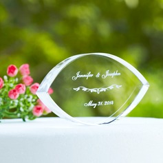 Personalized Elegant Crystal Cake Topper