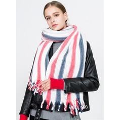 Striped Oversized/fashion/Cold weather Artificial Wool Scarf