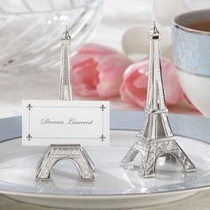 Eiffel Tower Design Resin Place Card Holders