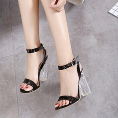 Women's Leatherette Stiletto Heel Sandals Pumps With Others shoes