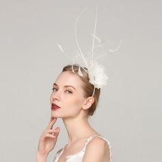 Ladies' Unique Feather With Feather Fascinators/Kentucky Derby Hats