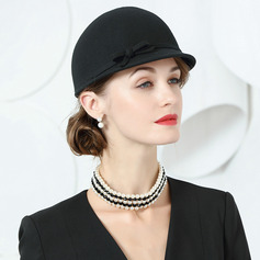 Ladies' Beautiful/Glamourous/Elegant/Plus Wool Floppy Hats