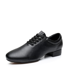 Men's Real Leather Latin Dance Shoes