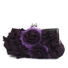 Charming Satin/Silk Clutches/Wristlets