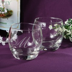 "Personalized ""Initial"" Glass Cup"