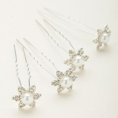 Gorgeous Crystal/Alloy/Austrian Crystal Hairpins (Set of 6)