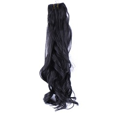 Loose Synthetic Hair Human Hair Weave (Sold in a single piece) 100g