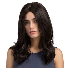Loose Wavy Synthetic Hair Capless Wigs 180g