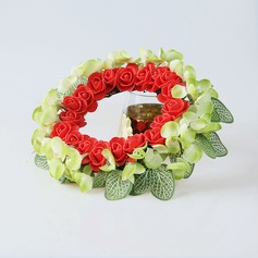 Nice Round/Eye-catching Artificial Flowers Wedding Ornaments