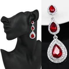 Classic Alloy/Rhinestones Ladies' Earrings